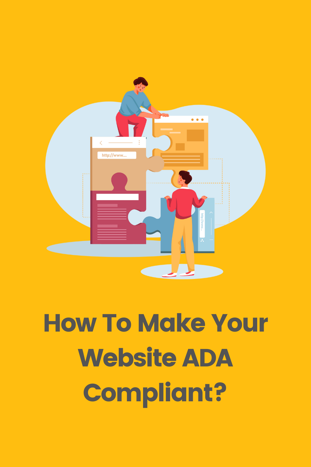 There are a few other important things that you must address to ensure your website is ADA compliant. But for now, let's take a step back and understand what it means for a website to be ADA compliant. via @scopedesign